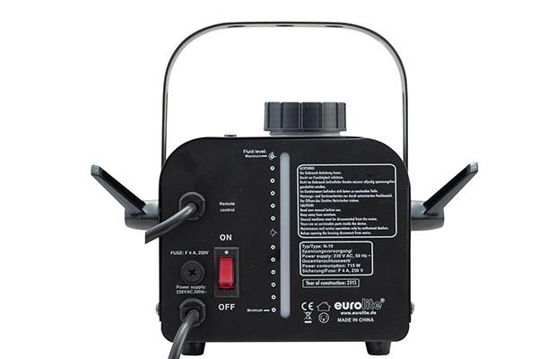 Eurolite N-19 Nebelmaschine Rückansicht